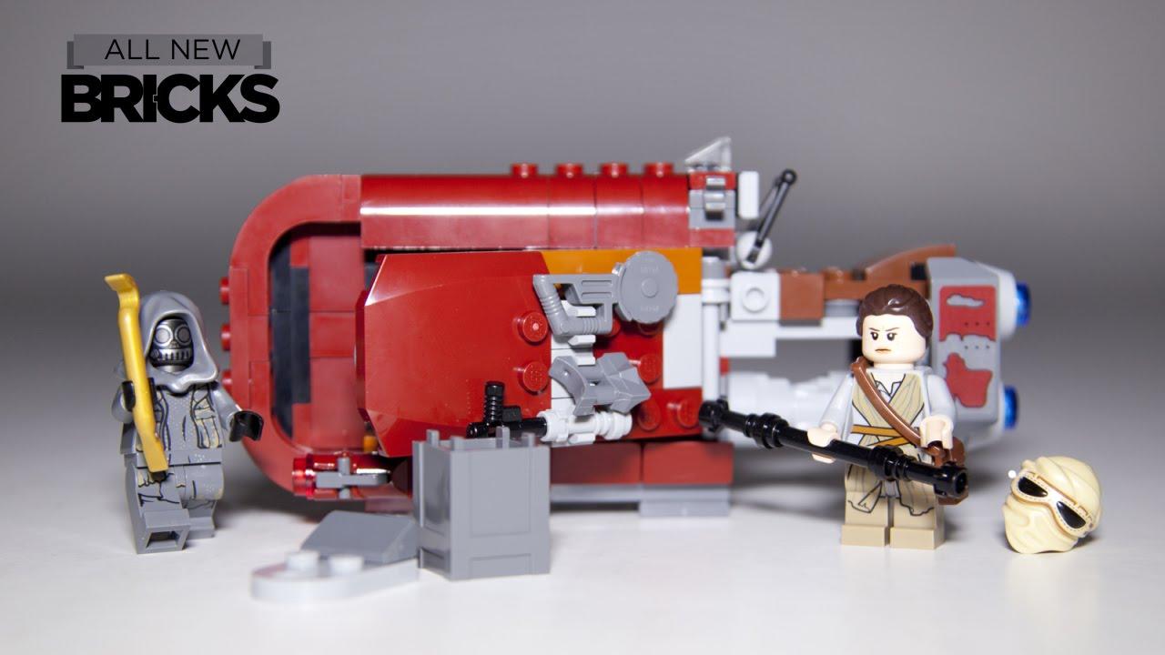 from 2015 Unkar/'s Thug Rey LEGO Star Wars 75099 Rey/'s Speeder