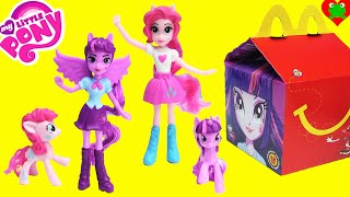 2015 McDonalds Happy Meal Toys with My Little Pony Equestria Girls
