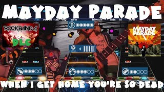 Mayday Parade - When I Get Home You're So Dead - Rock Band 4 DLC Expert Full Band (Sept 20th, 2018)
