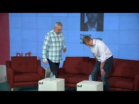 Crypto: What's The Status? (Barry Silbert & David Kirkpatrick)   DLD New York 18