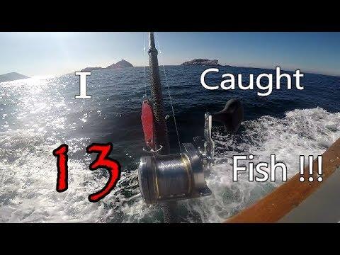 Deep Sea Fishing Off Point Loma! [HD]