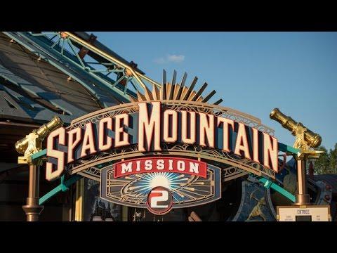 Space Mountain Mission 2 | Disneyland Paris - YouTube