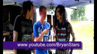 Andy Biersack, Matt Good, Bryan Stars & insect