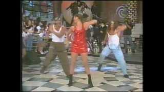 Taleesa @ Xuxa (Live in Brazil 1995) Let Me Be & Interview