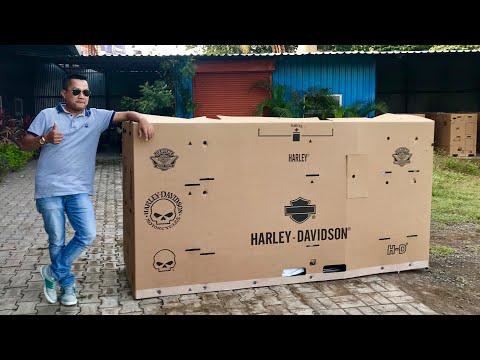 UNBOXING oF HARLEY STREET ROD 2018/ Manipuri vlog