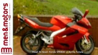 Head-To-Head: Honda VFR800i vs Aprilia Futura