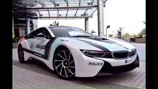 Dubai Police Super Cars bmw i8