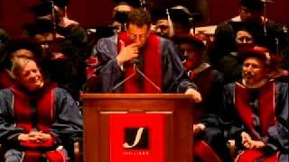Juilliard Commencement 2010--Tony Kushner, speaker