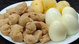 सोयाबीन और अंडे से बनाए सुपर टेस्टी रेसिपी पहले कभी देखा नाही खाए होंगे एकबार जरूर बनाकर देखिए