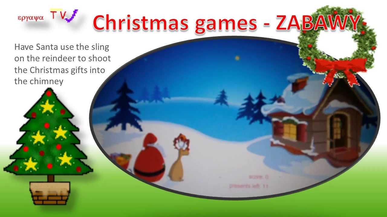 Zabawy Językiem Angielskim święta Bożego Narodzenia