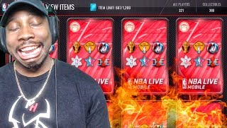 CRAZY ELITES IN CORNUCOPIA PACK OPENING! NBA Live Mobile Gameplay Pack Opening Ep. 165