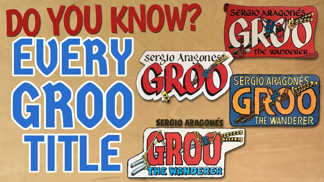 Download Every Groo the Wanderer Title Block