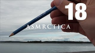 ASMR By the sea - Sitting on the dock of the bay Watching the tide, Tracing clouds