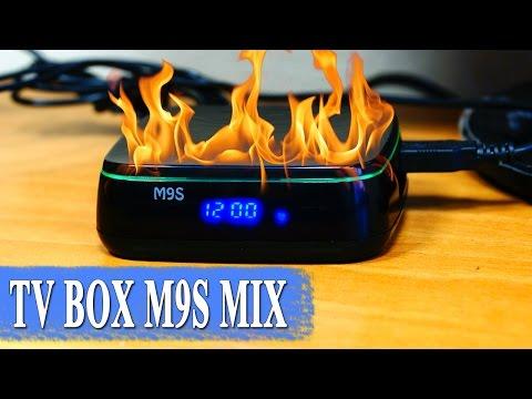M9S MIX ТВ приставка с необычным дизайном -🔥 горячая штучка