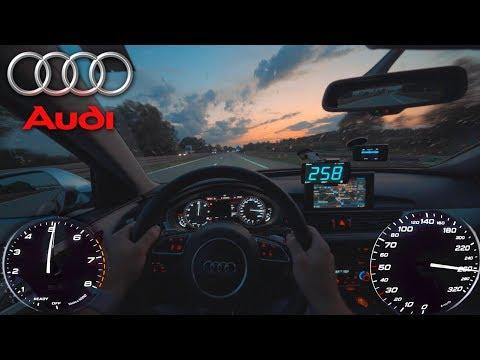 Audi S6 Avant | Pushing On German Autobahn✔