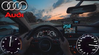 Audi S6 Avant | Pushing on German Autobahn✔