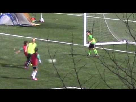 Isabel Liu - Dublin United Soccer League - U10G 2014 Tryouts - More Scrimmage Highlights
