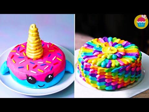cake-decorating-ideas-|-part-2-|-birthday-cake-@cake-decorating-ideas-by-nyam-nyam