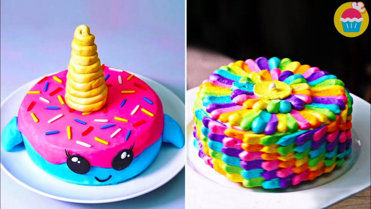 Cake Decorating Ideas | FUN and Easy cake recipes by Nyam ...