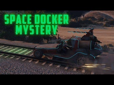 New Idea To Time Travel & Flying Space Docker Mystery! (GTA 5 Easter Eggs & Secret)