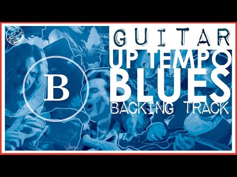 Up Tempo Blues Backing Track in B