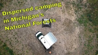 Dispersed Camping in Michigan's National Forests