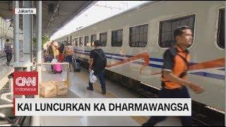 KAI Luncurkan Kereta Api Dharmawangsa
