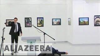 Russian ambassador shot dead in Turkish capital