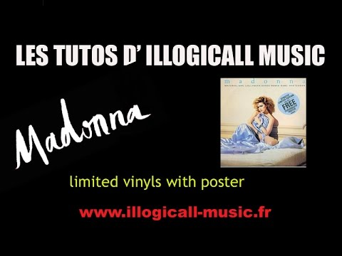 Madonna collections / limited singles with poster