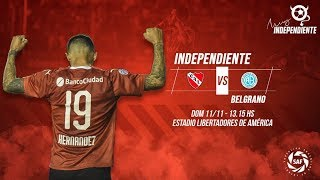 EN VIVO: Indepenpendiente vs Belgrano - Superliga Argentina