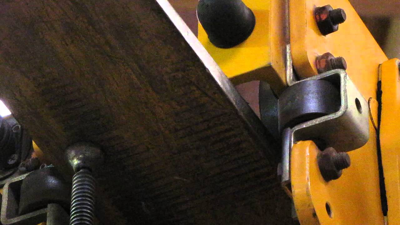 harrington 2 ton electric chain hoist w motorized trolley 14ft min 460v [ 1280 x 720 Pixel ]