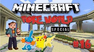 Minecraft: PokeWorld Special #16 - Офигенные статуи Покемонов (Игра на сервере)
