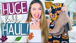 HUGE FALL HAUL 2016!