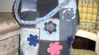 Bolsas Jeans Artesanais