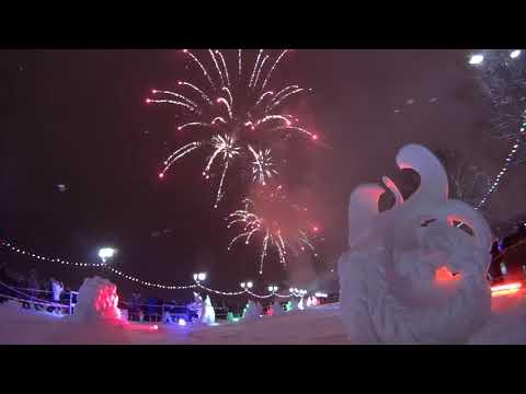 Фейерверк Гиперборея 2018 в Петрозаводске