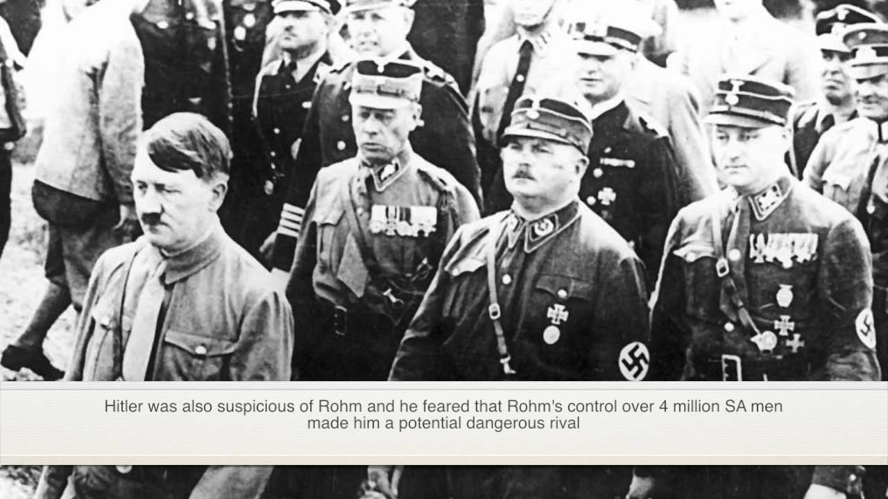 night of the long knives Night of the long knives: night of the long knives, in german history, purge of nazi leaders by adolf hitler on june 30, 1934 fearing that the paramilitary sa had become too powerful.
