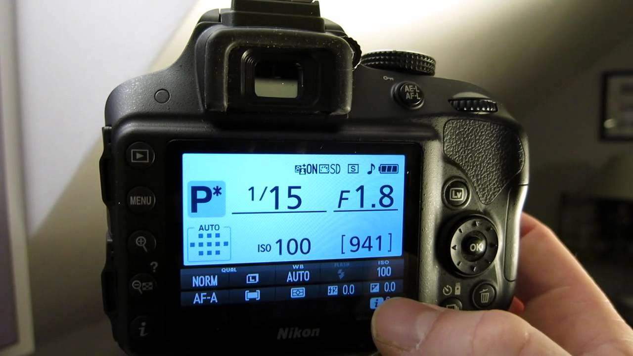 how to set exposure compensation on nikon d3300 youtube rh youtube com Nikon Auto Bracketing Nikon D5100 Auto Bracketing