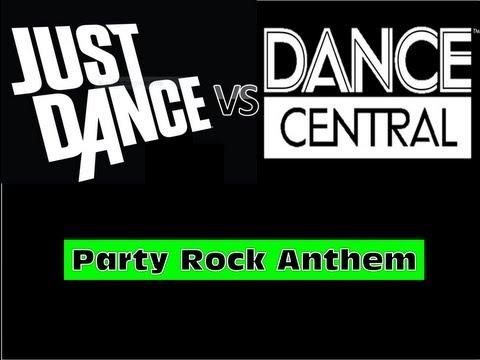 Just Dance Vs. Dance Central | Party Rock Anthem