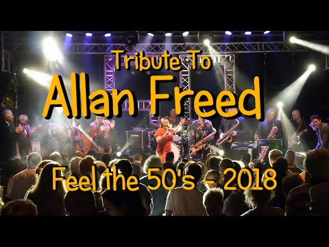 Tribute to Alan Freed at Feel The 50s 2018