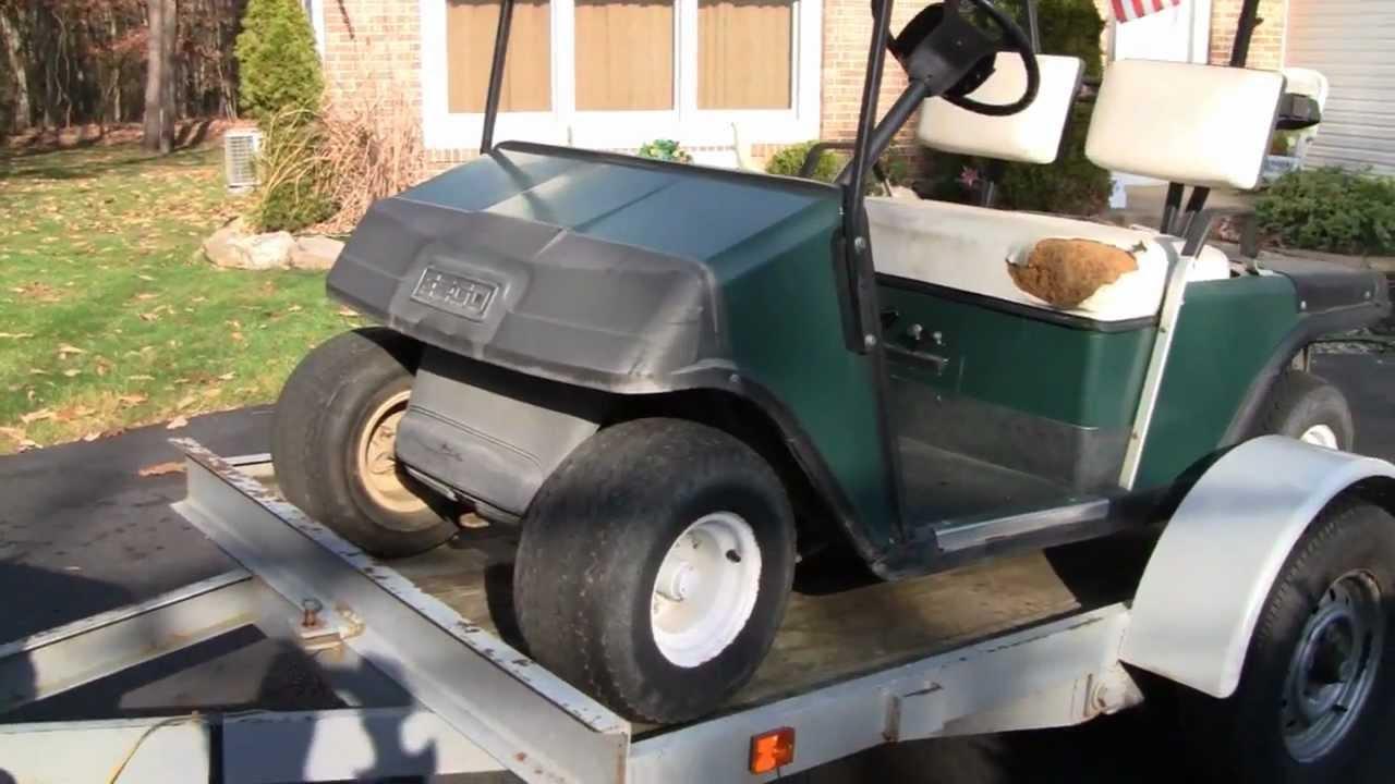 Free Ezgo Golf Cart