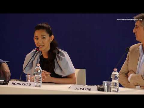 Hong Chau talks DOWNSIZING Venice Film Festival 2017