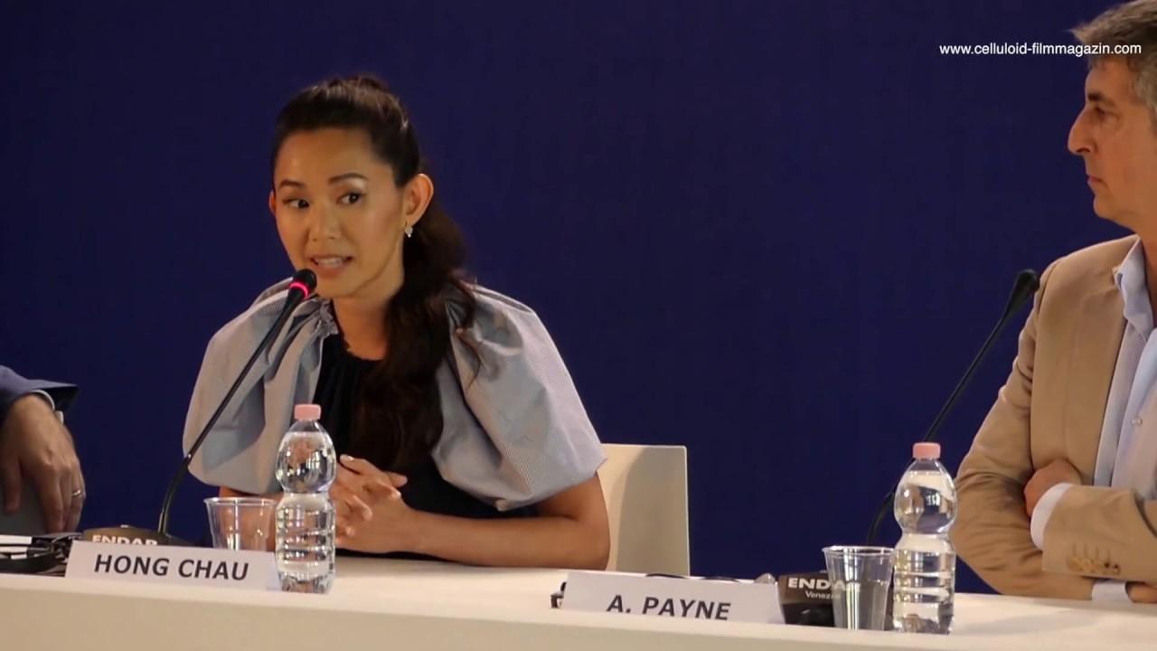 Download Hong Chau talks DOWNSIZING Venice Film Festival 2017