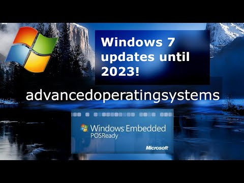 How To Get Windows 7 Updates Until 2023 With ESU And POS Ready