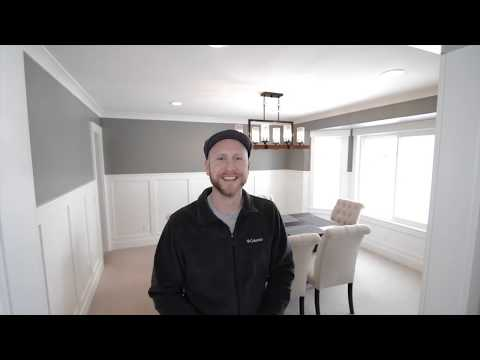 Dining Room Renovation, wainscoting or Board and Batten