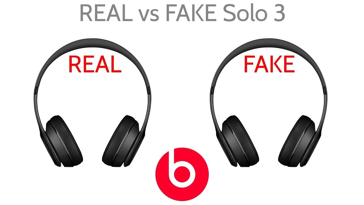 ae268598268 Fake vs Real Beat By Dre Solo 3 Wireless Headphones JoesGE - YouTube