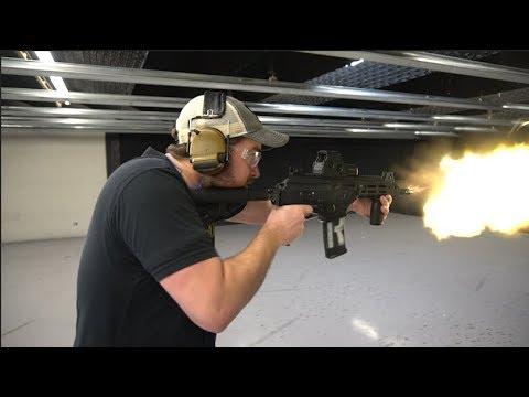 Full-Auto IWI Galil Ace 5 56 w/ Midwest Industries Handguard