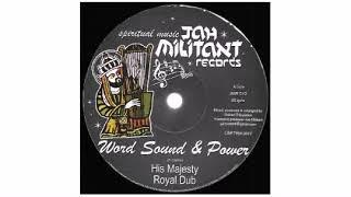 "Word Sound & Power / King Pharaoh  - His Majesty / King David Style - 12"" - Jah Militant Records"