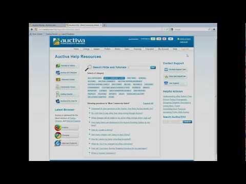 Auctiva 101 Introduction Webinar