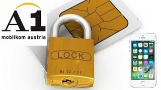 как отключить SIM LOCK на iPhone 5 от оператора A1 Austria легально