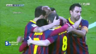 vuclip Alex Sánchez Superb! Hattrick Vs. Elche 2013-14 LigaBBVA | Barcelona Vs. Elche 4-0 | 5-1-2014
